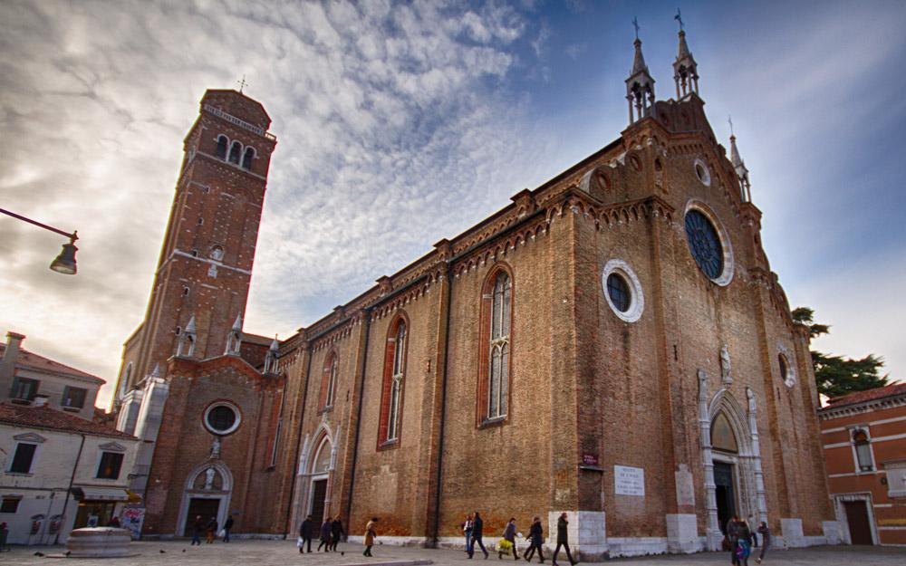 باسیلیکای فراری، ونیز، ایتالیا