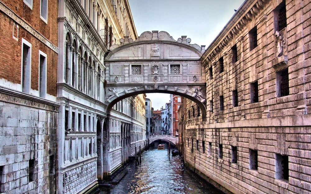 پل حسرت (پل آه)، ونیز، ایتالیا