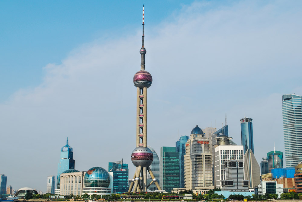 برج مروارید شرقی، شانگهای، چین