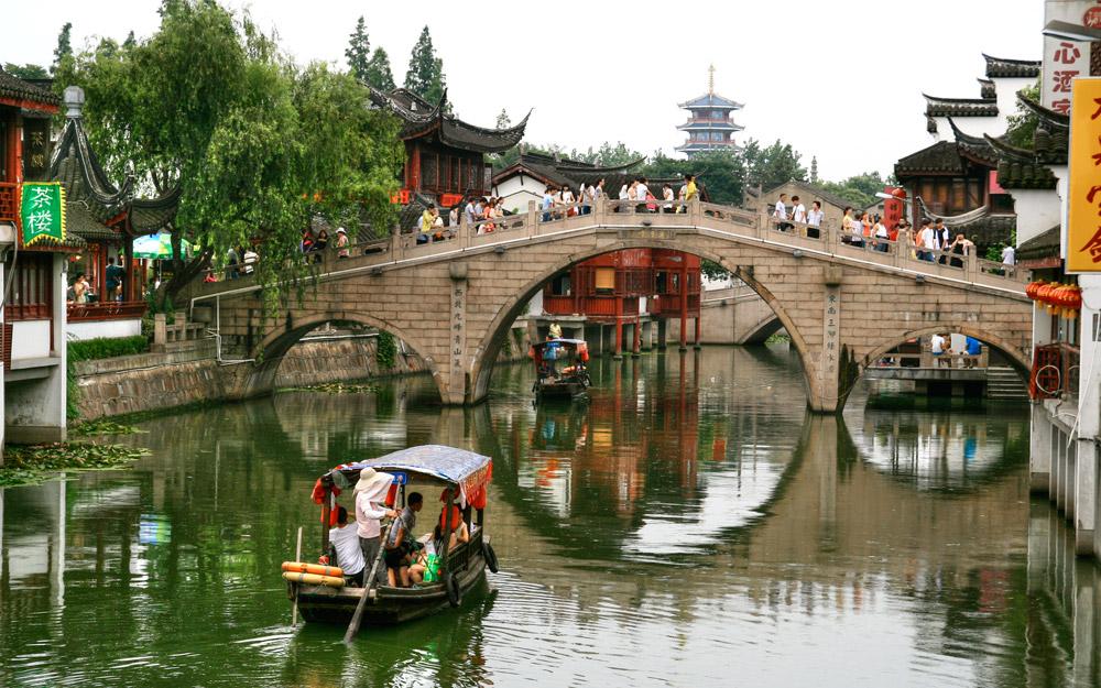شهر باستانی چیبائو، شانگهای، چین