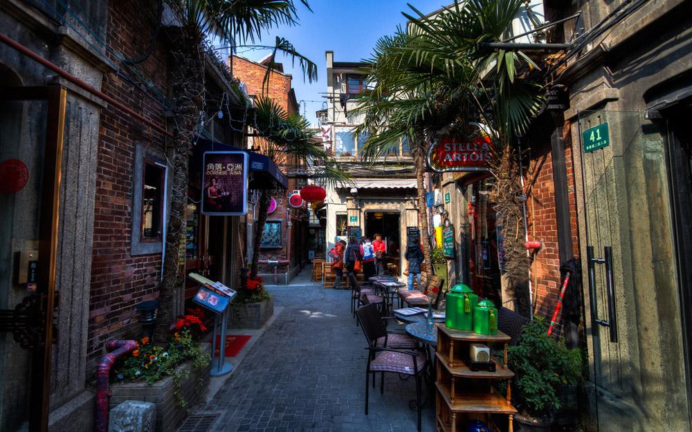 محله تیانزیفانگ، شانگهای، چین