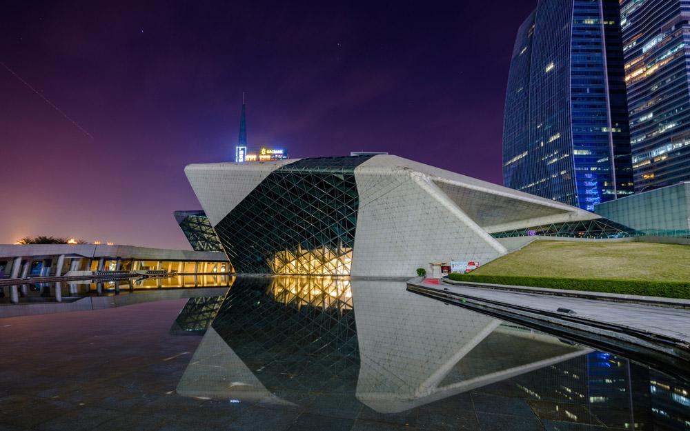 خانه اپرای گوانگجو، چین