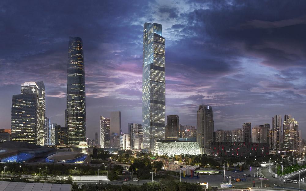 برج مرکز مالی CTF، گوانگجو، چین