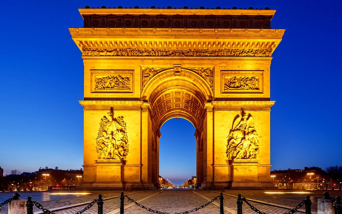 طاق پیروزی پاریس، فرانسه
