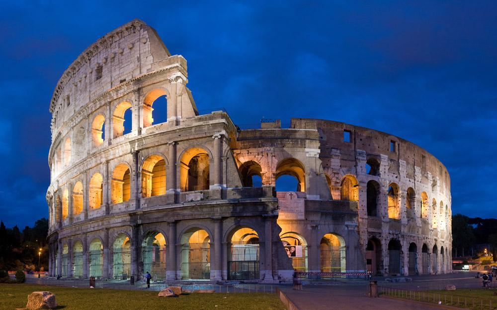 کولوسئوم، رم، ایتالیا
