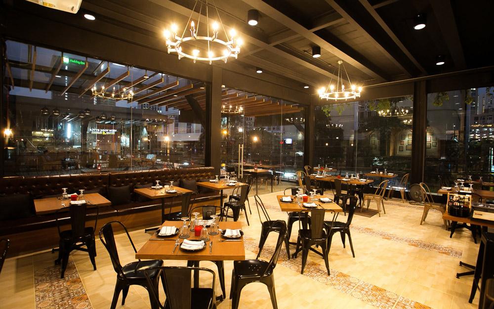 رستوران برگر و استیک به سبک نیویورک، بانکوک