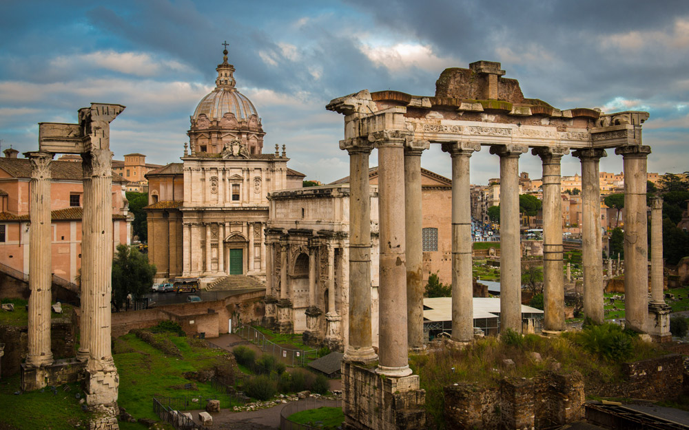 میدان رومی، رم، ایتالیا