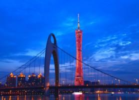 برج کانتون، گوانگجو، چین