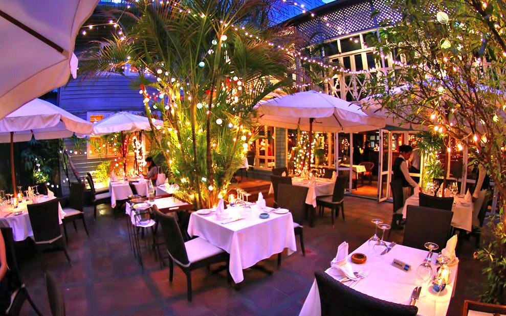رستوران فرانسوی ایندیگو، بانکوک