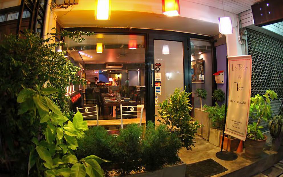 رستوران La Table De Tee، بانکوک