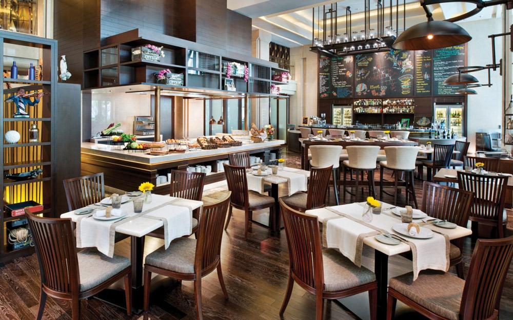 رستوران طاقچه در هتل سیام کمپینسکی بانکوک