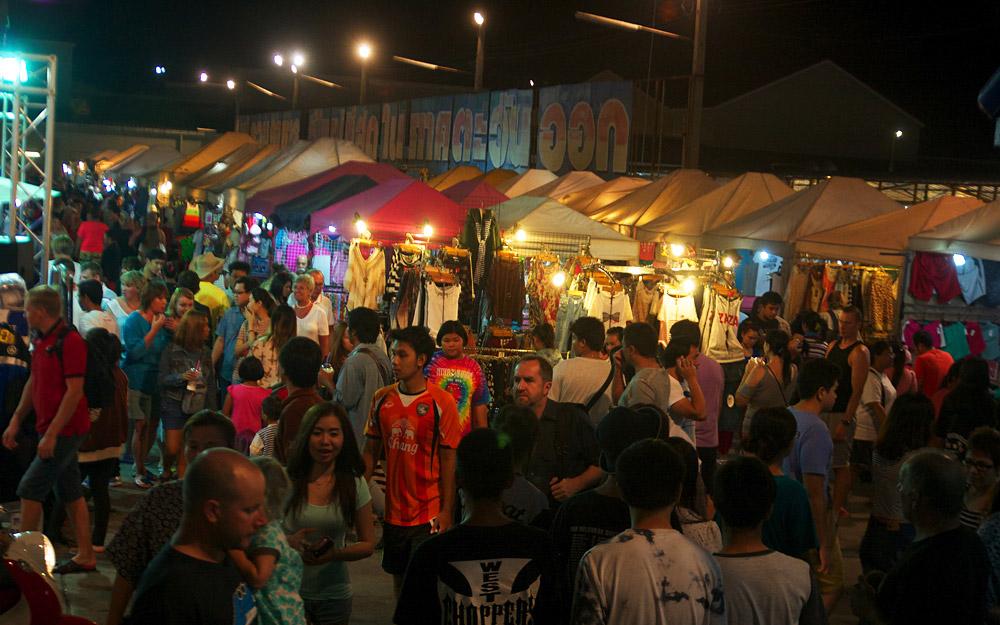بازار شبانه تپراسیت، پاتایا