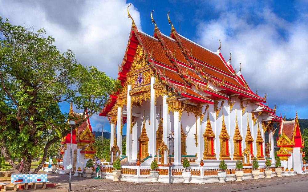 معبد چالونگ، پوکت