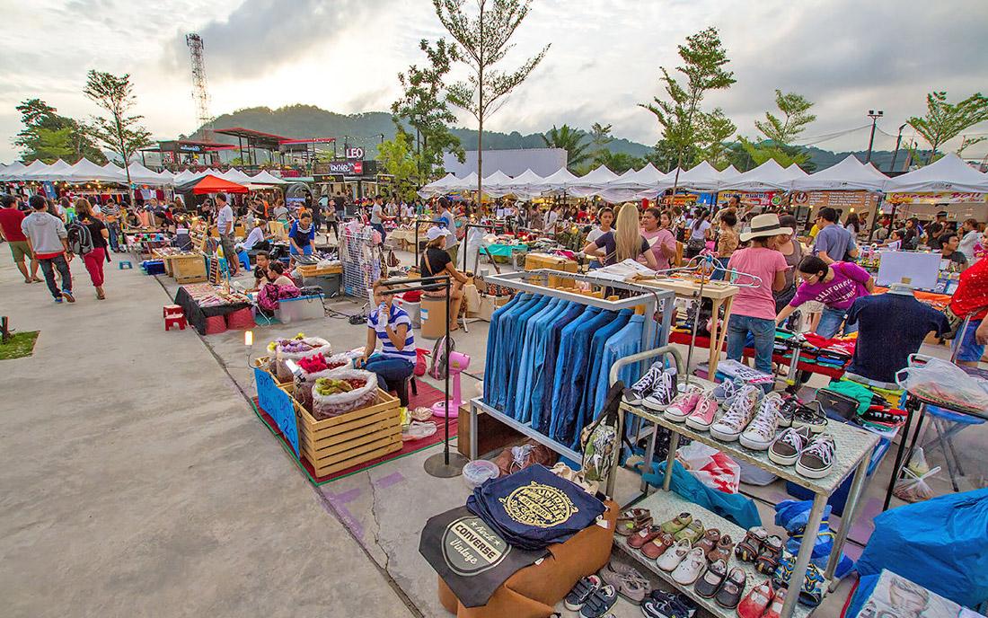 بازار چیلوا پوکت (تایلند)