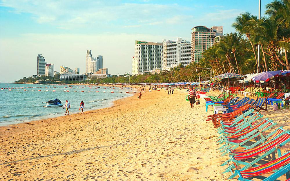 ساحل پاتایا (تایلند)