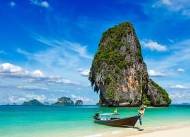 ساحل فرا نانگ رایلی کرابی (تایلند)