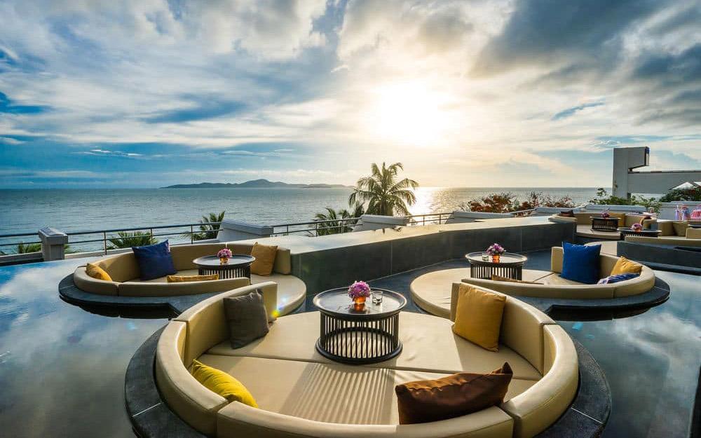 هتل رویال کلیف بیچ تراس پاتایا (تایلند)