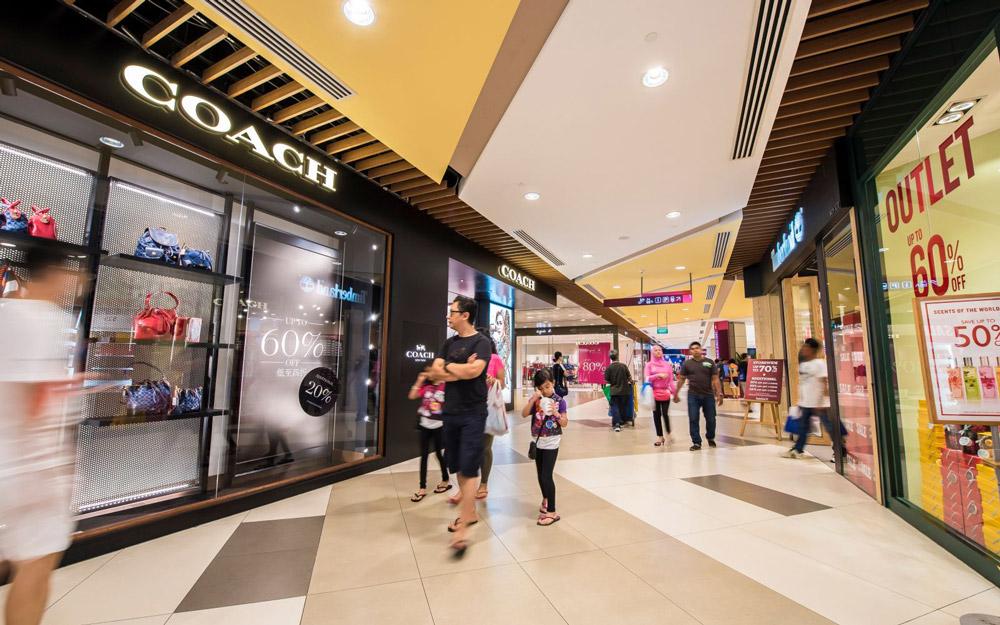 مرکز خرید اوت لت آی ام ام سنگاپور