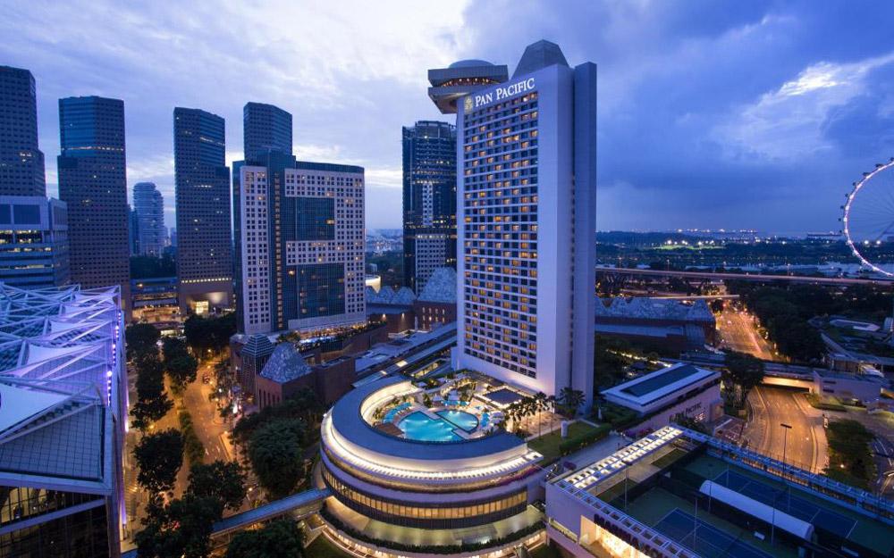 هتل پن پاسیفیک سنگاپور